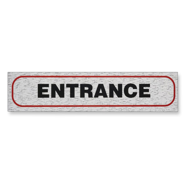 "Information Sign ""ENTRANCE"" 17 x 4 cm [Self-Adhesive]"