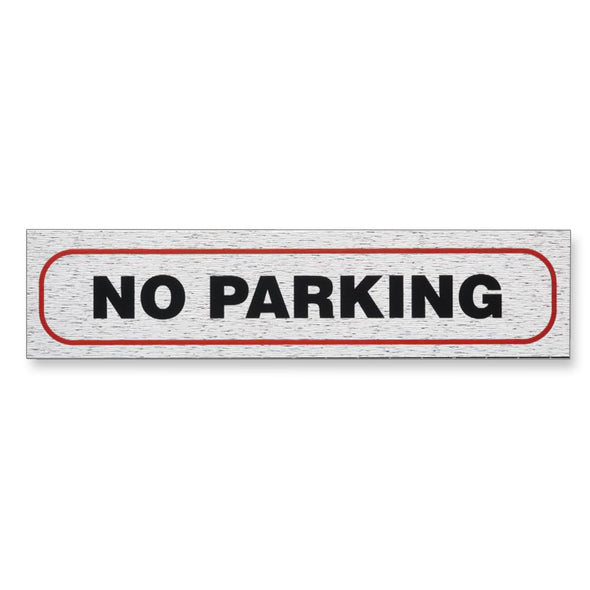 "Information Sign ""NO PARKING"" 17 x 4 cm [Self-Adhesive]"