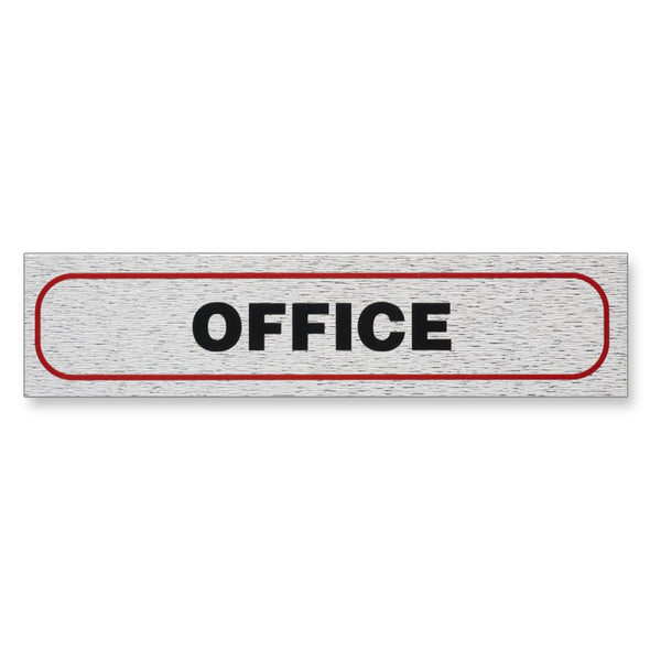 "Information Sign ""OFFICE"" 17 x 4 cm [Self-Adhesive]"