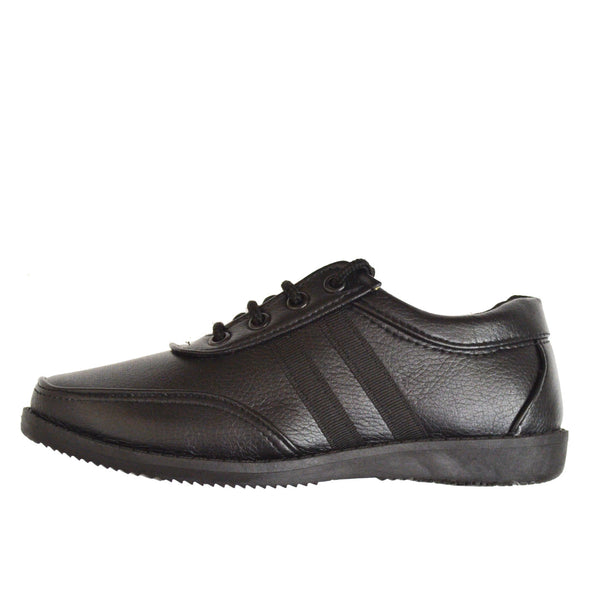 Junior School Shoes Black