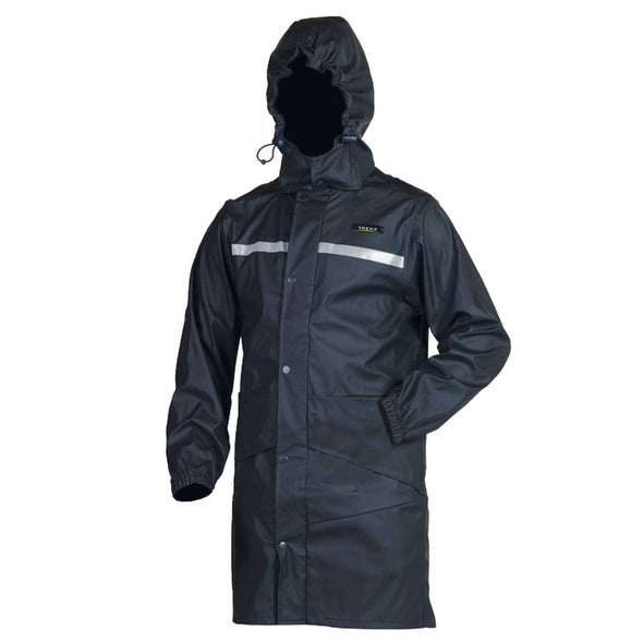 Trekz Youth 100% waterproof Parka Navy Size 10-14