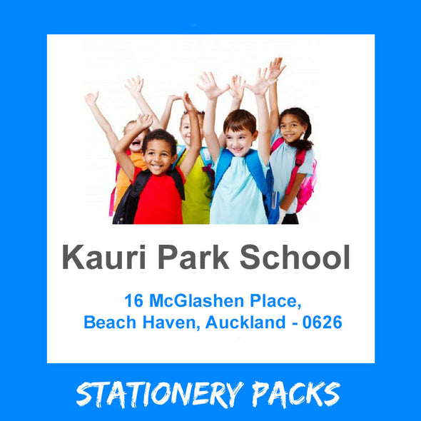 Kauri Park School Stationery Pack 2020 NEW ENTRANT & YEAR 2