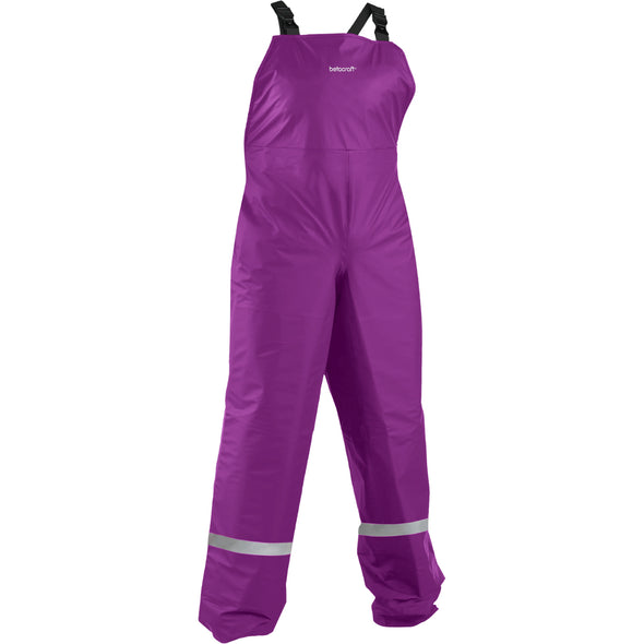 Tuffbak Kids 100% Waterproof Bib Overtrouser Purple Rainwear