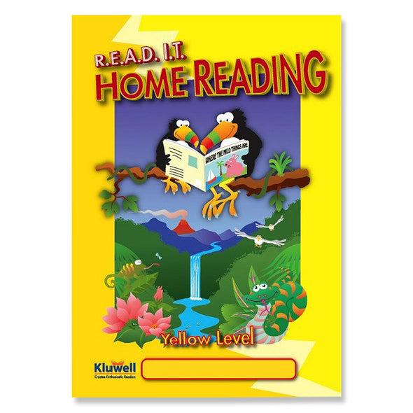 Kluwell My Home Reading: Yellow Level (Age 4‐7 years)