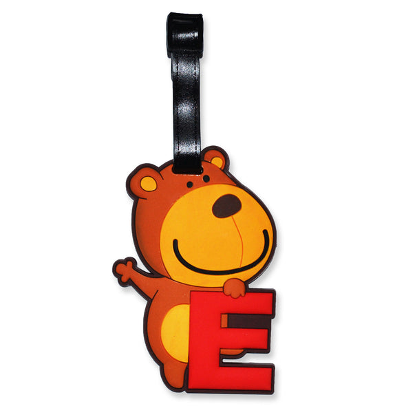 Luggage Tag Teddy Bear