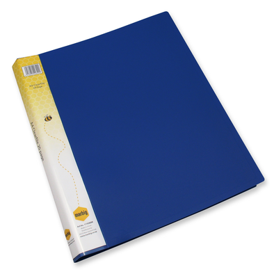 Marbig Display Book A4 20 Pocket Blue
