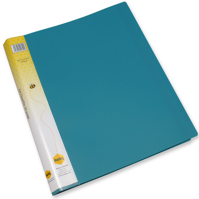 Marbig Display Book A4 20 Pocket Green