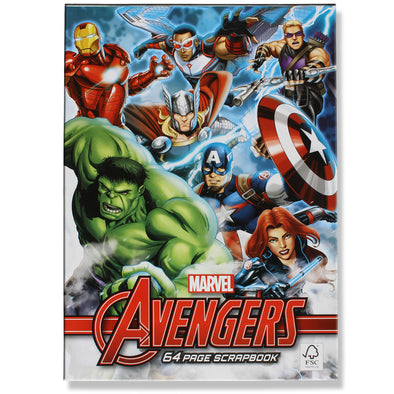 Marvel Avengers Scrapbook 64 Pages - School Depot NZ