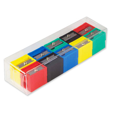 Milan Single Hole Pencil Sharpener Assorted