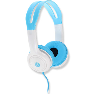 Moki Headphones for Kids Volume Limited Blue - School Depot NZ