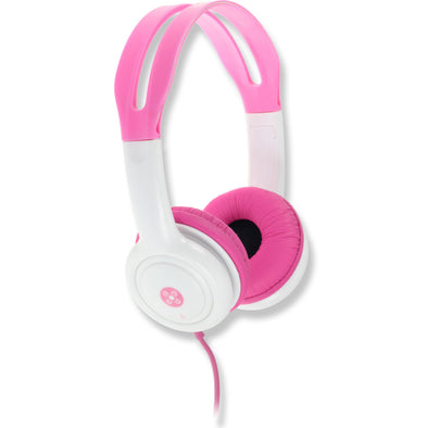 Moki Headphones for Kids Volume Limited Pink - School Depot NZ