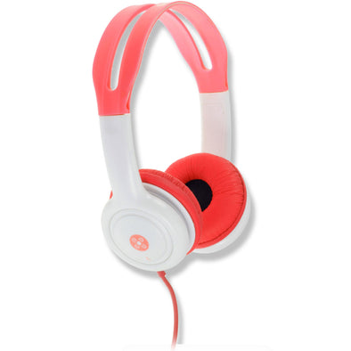 Moki Headphones for Kids Volume Limited Red - School Depot NZ