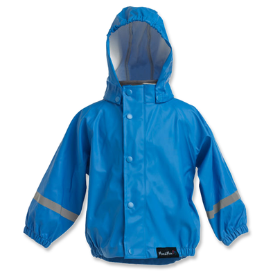 Mum2Mum Kids Raincoat 100% Waterproof Size 2-10 Years Royal