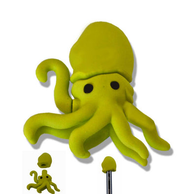 Fancy eraser octopus shape