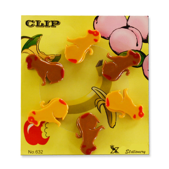Paper Clips Puppies 6 Pack