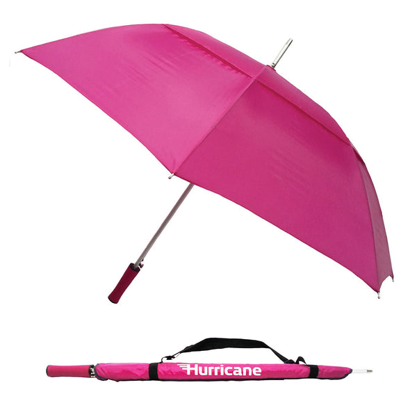 Hurricane Urban Ultimate Golf Umbrella Pink