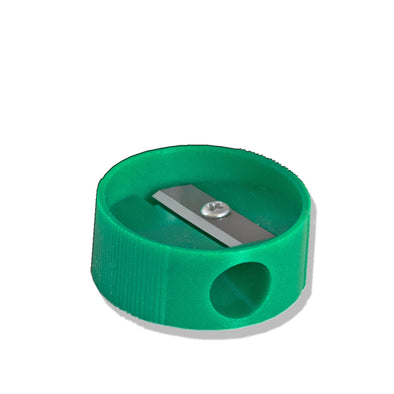Green Pencil Sharpener Plastic - Warwick