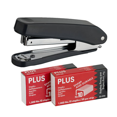 Plus Stapler Black - School Depot NZ