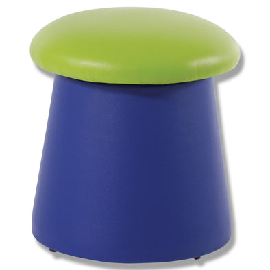 BFX Stool Portobello Ottoman Green/Blue - School Depot NZ