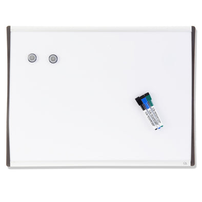 Quartet Arc Magnetic Whiteboard 610 x 460 mm - School Depot