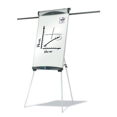 Quartet Easel Flipchart and Whiteboard Combo Euro Magnetic