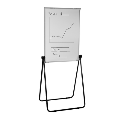 Quartet Magnetic Whiteboard and Flipchart Board 400 x 650 mm