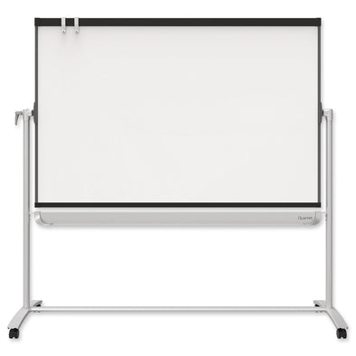 Quartet Magnetic Mobile Whiteboard Porcelain Prestige 2 1200 x 900 mm