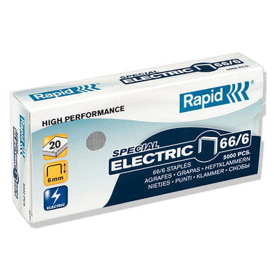 Rapid 66/6 MM Strong Staples Box 5000 - School Depot NZ