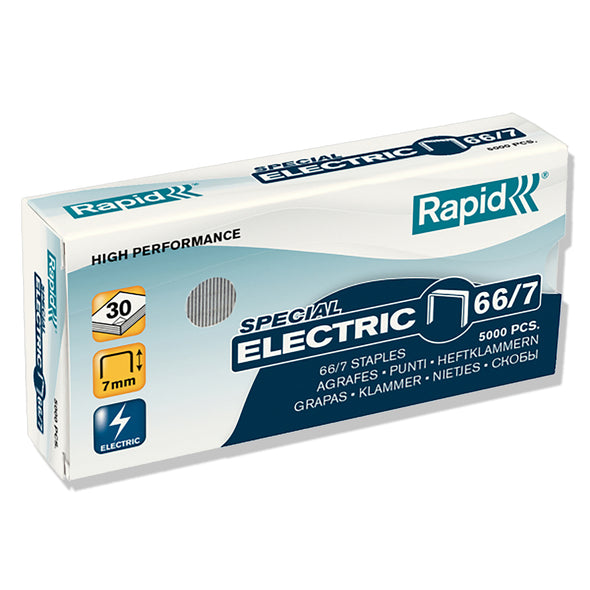 Rapid 66/7 MM Strong Staples Box 5000 - School Depot NZ