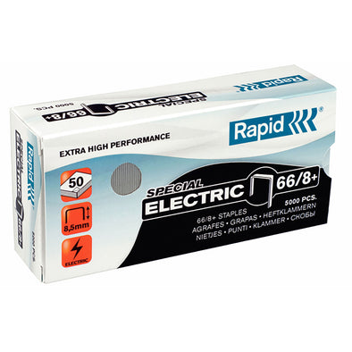 Rapid 66/8 MM Strong Staples Box 5000 - School Depot NZ