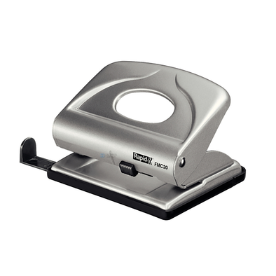 Rapid 2 Hole Punch FMC20 Silver [20 Sheet]