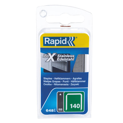 Rapid Stainless Steel Staples 140S8 - School Depot NZ