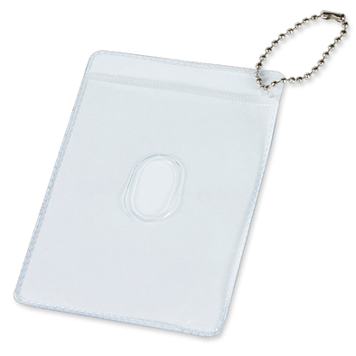 Rexel ID Pocket Pass Holder Clear