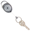 Rexel ID Retractable Snap Lock Key Holder Black