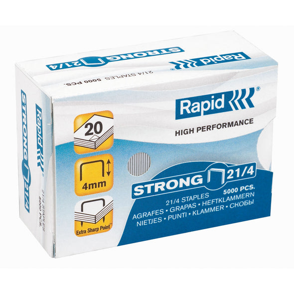 Rapid 21/4 MM Strong Staples - School Depot NZ