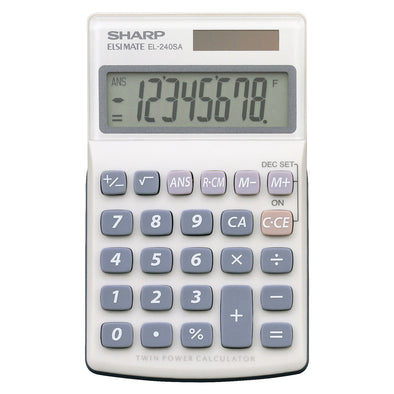 Sharp EL-240SB Pocket Calculator