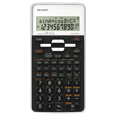 Sharp Calculator EL531XHBWH Scientific White