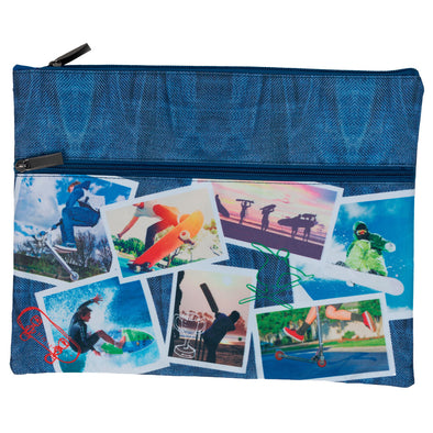 Spencil A4 Pencil Case Sports Collage 25 x 34 cm