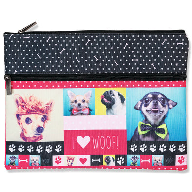 Spencil A4 Pencil Case Woof 25 x 34 cm
