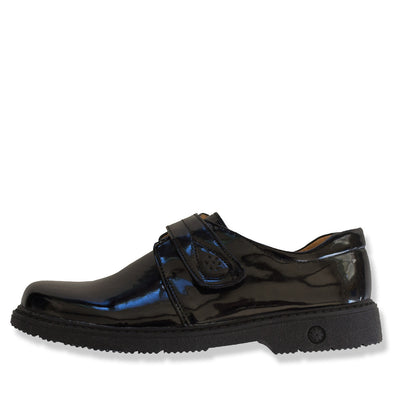 Alex Black School Shoes with Velcro - School Depot NZ