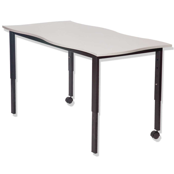SmarTable Twist Height Adjustable Double Table  Zinkworks - School Depot NZ