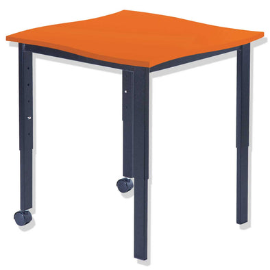 SmarTable Twist Single Students Height Adjustable Table Orange - School Depot NZ