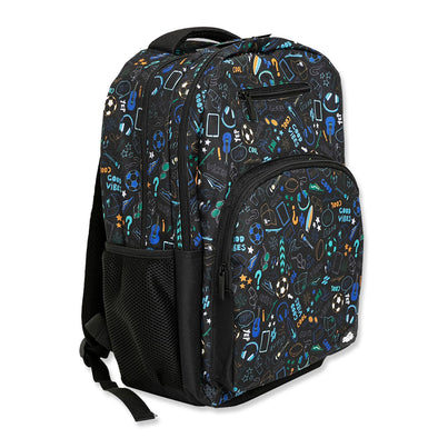 Spencil School Bag Backpack Good Vibes
