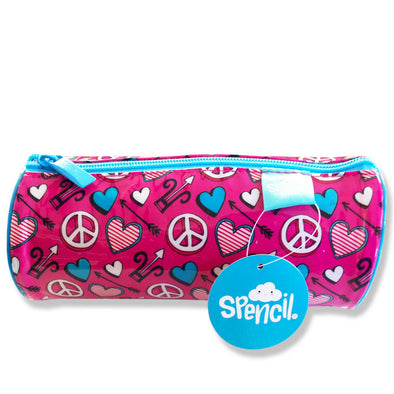Spencil Barrel Pencil Case - Love Joy Peace