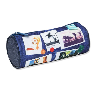 Spencil Pencil Case Sports Collage