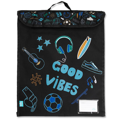 Spencil Book Bag Good Vibes 37cm x 45cm
