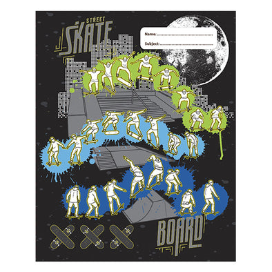 Spencil Book Cover 1B5 Skate Paint Pack 3 Assorted