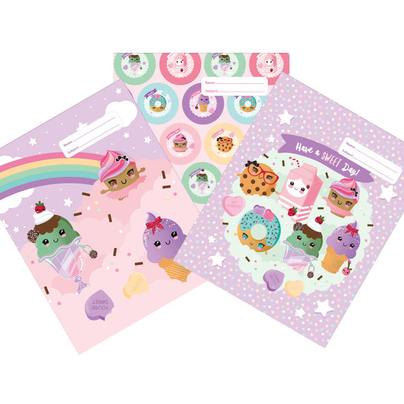Spencil Exercise Book Cover 1B5 Every Day is Sundae Pack 3