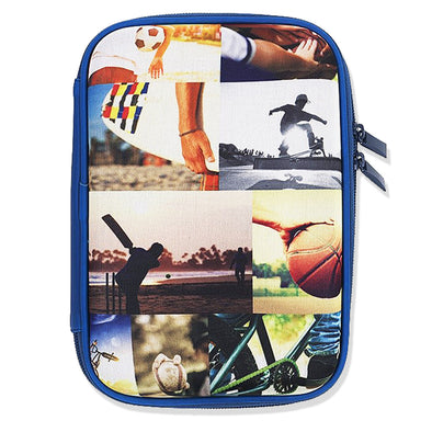 Spencil Hard Top Pencil Case - Sports Collage