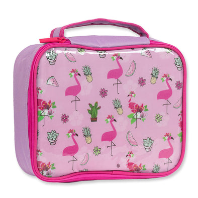 Spencil Lunch Box Fancy Flamingo